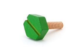 Grüne Schraube Stockfotos