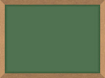 Grüne Schulbehörde Säubern Sie Tafel Auch im corel abgehobenen Betrag Acces Stockfotos