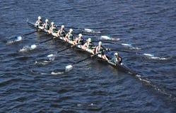Grüne See-Mannschaft läuft im Kopf von Charles Lizenzfreie Stockfotos