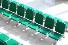 Grüne Sitze Stockfotografie