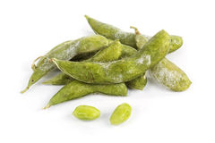 Grüne Sojabohne des Frostes Lizenzfreies Stockbild