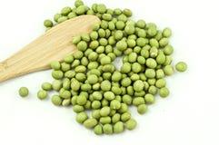 Grüne Soyabohnen Lizenzfreies Stockfoto