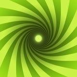 Grüne Spirale Stockfotos