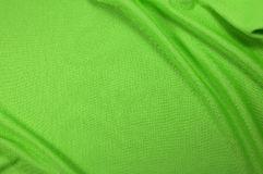 Grüne Sportgewebebeschaffenheit Stockfotos