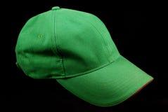Grüne Sportschutzkappe Stockfotografie