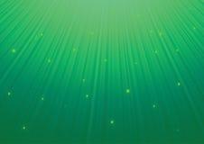 Grüne Sternzusammenfassung Lizenzfreies Stockfoto