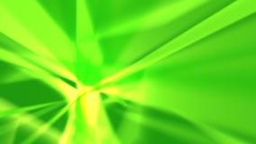 Grüne Strahlen - abstrakter Hintergrund stockbilder