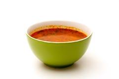 Grüne Suppenschüssel Stockbilder