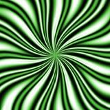 Grüne Swirly Turbulenz Lizenzfreies Stockfoto