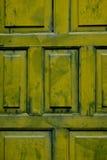 Grüne Tür Lizenzfreie Stockfotos