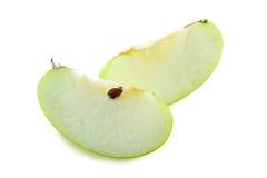Grüne Tapete der Äpfel Lizenzfreie Stockbilder