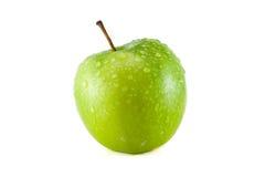 Grüne Tapete der Äpfel Lizenzfreie Stockfotos