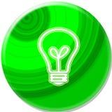 Grüne Taste Lizenzfreie Stockfotografie