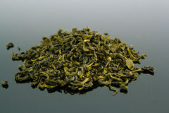 Grüne Teeblätter Lizenzfreie Stockbilder