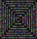 Grüne und abstrakte Spirale Stockfotos