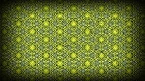 Grüne und schwarze Weinlese-dekorative Muster-Tapeten-Schablone stock abbildung