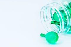 Grüne Vitamine lizenzfreie stockbilder