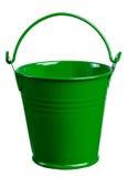 Grüne Wanne Stockbild