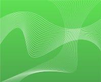 Grüne weiße Ineinander greifen-Auszugs-Hintergrund-Tapete Lizenzfreie Stockfotografie