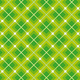 Grüne Weinlese-nahtloses Muster Lizenzfreie Stockbilder