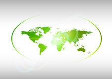 Grüne Welt Stockfotos