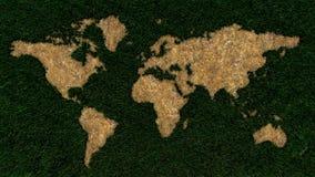Grüne Welt Stockfotografie