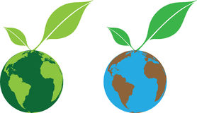 Grüne Welt Lizenzfreie Stockfotografie