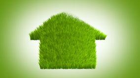 Grüne Welt, Animation 3d stock abbildung