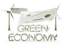Grüne Wirtschaftlichkeit Stockbild