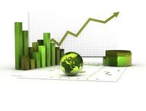 Grüne Wirtschaftlichkeit Lizenzfreies Stockbild