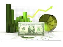Grüne Wirtschaftlichkeit Lizenzfreie Stockfotos