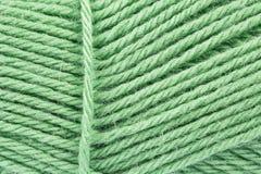 Grüne Wolle Lizenzfreies Stockfoto
