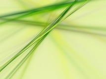 Grüne Zeile Stockbild