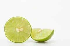 Grüne Zitrone Stockfoto