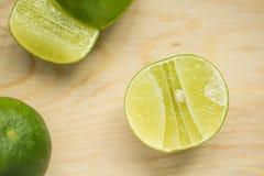 Grüne Zitrone Stockfotografie