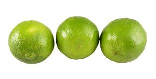 Grüne Zitronefrucht Stockfotos