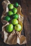 Grüne Zitronen Stockfotografie
