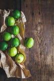 Grüne Zitronen Lizenzfreies Stockbild