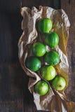Grüne Zitronen Lizenzfreies Stockfoto
