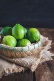 Grüne Zitronen Stockbild
