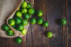 Grüne Zitronen Stockfotos