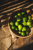 Grüne Zitronen Lizenzfreie Stockfotografie