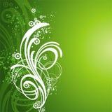 Grünen Sie abstrakten Hintergrund vektor abbildung