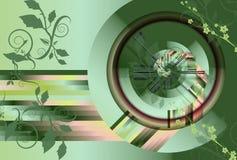 Grünen Sie abstrakten Hintergrund lizenzfreie abbildung