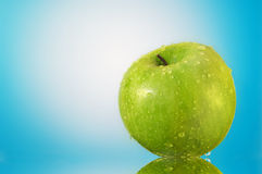Grünen Sie Apfel Stockfoto