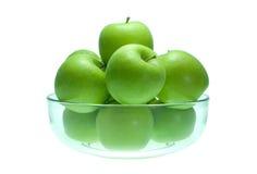 Grünen Sie Apple Stockfotografie