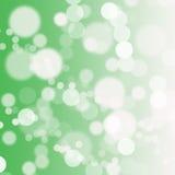 Grünen Sie bokeh abstrakten hellen Hintergrund stock abbildung