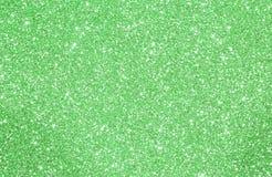 Grünen Sie gefunkelten Hintergrund mit funkelnden Lichtern und Reflexion Lizenzfreies Stockfoto