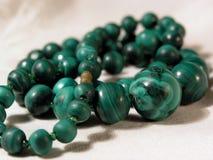 Grünen Sie Halskette Lizenzfreies Stockbild