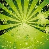 Grünen Sie Hintergrund mit Punkten stock abbildung